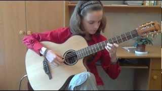 (Skyrim) Sons Of Skyrim - Alina Vlasova guitar cover