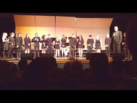 Fife High School Jazz Choir - Winter Music Concert