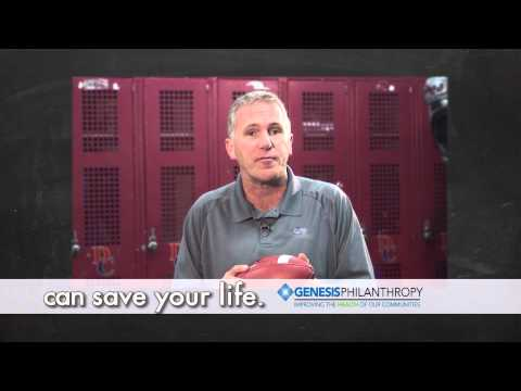 Chuck Long says get checked for lung cancer!