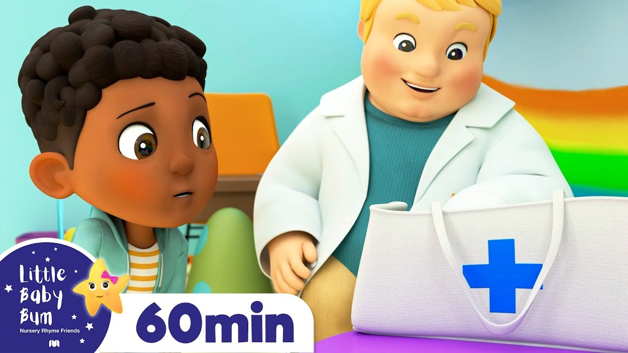Doctor Song +More Nursery Rhymes and Kids Songs | Little Baby Bum