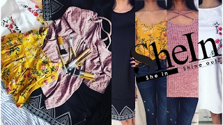 SHEIN TRY ON HAUL + REVIEW | ZARA DUPE ? | ONLINE SHOPPING | SHEIN HAUL INDIA 2017 | Nidhi Chaudhary