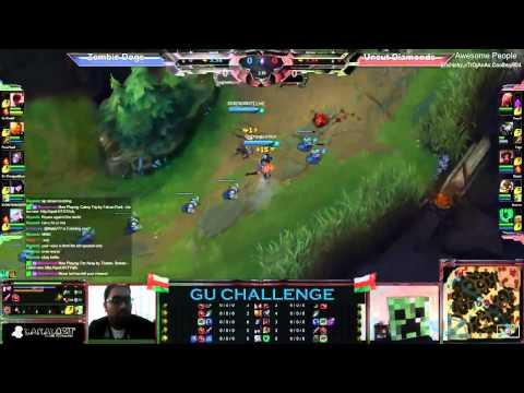 GU Challenge: Uncut Diamonds vs Zombie Dogs - 2 / 2