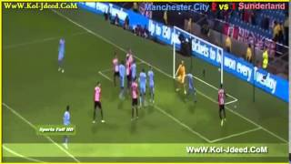 Video Gol Pertandingan Sunderland vs Manchester City
