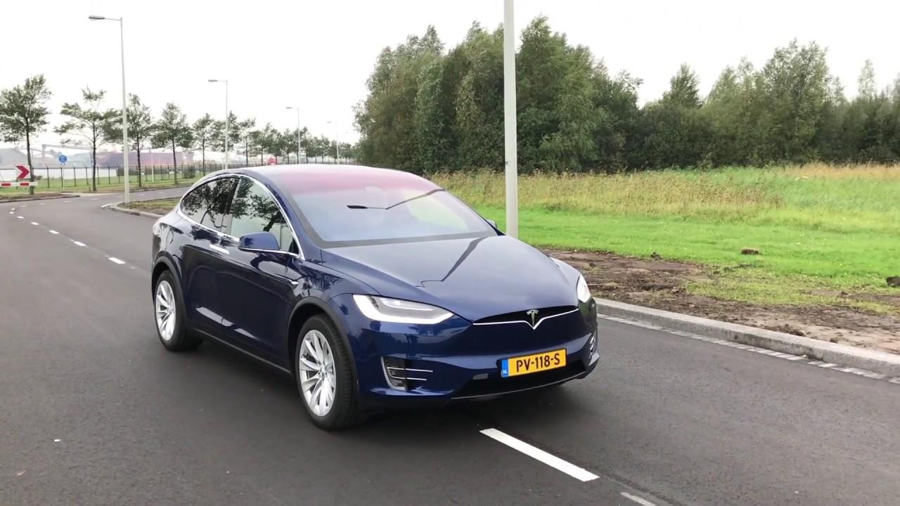 Anwb Test Tesla Model X 2017 Youtube