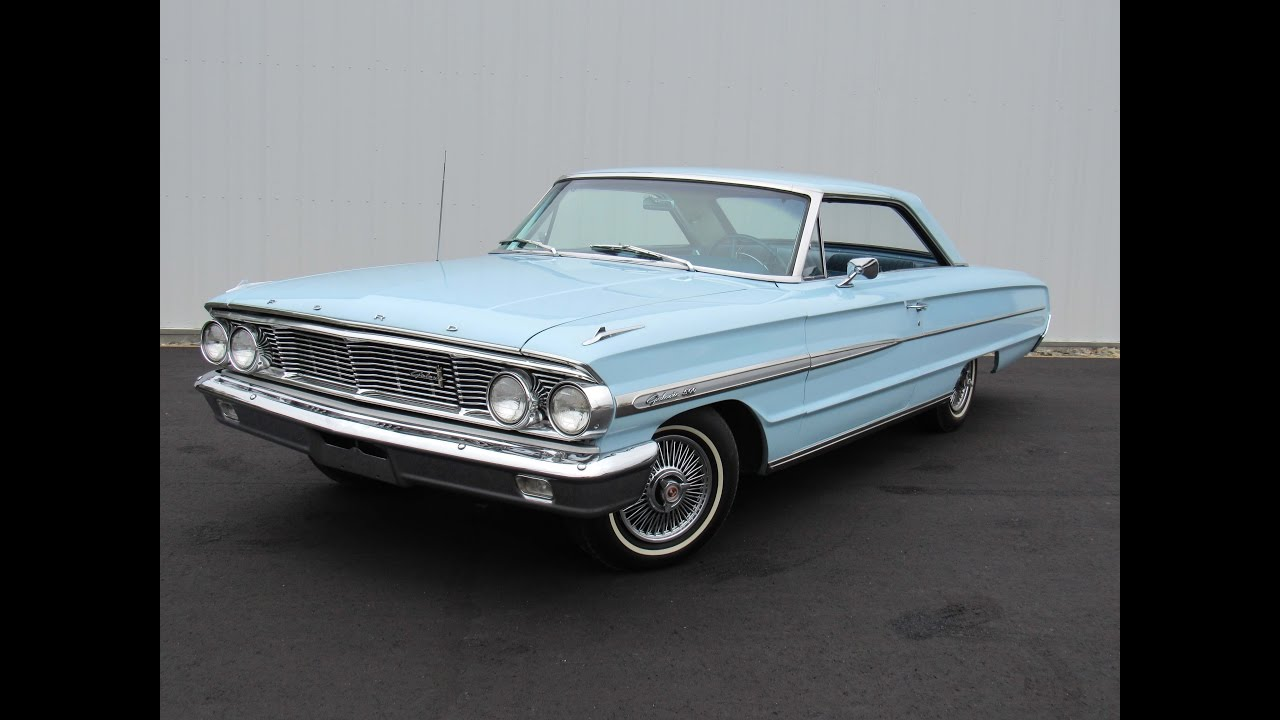 1964 Ford Galaxie 500 For Sale or Trade - YouTube
