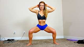 Lean & Firm Inner Thighs Workout + Upbra Review
