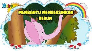 Membantu Membersihkan Kebun Bona Rongrong Dongeng Anak Indonesia Indonesian Fairytales