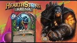 Hearthstone Arena | 12-0 Hunter: Flawless SMOrc with King Krush!