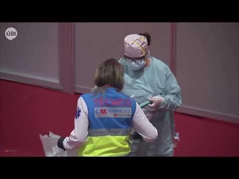 مركز مؤتمرات عالمي يتحول إلى مستشفى مؤقت لمصابي كورونا في مدريد  - نشر قبل 44 دقيقة