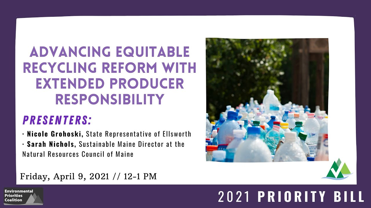 Lunch & Learn: Advancing Equitable Recycling Reform with Extended Producer Responsibility