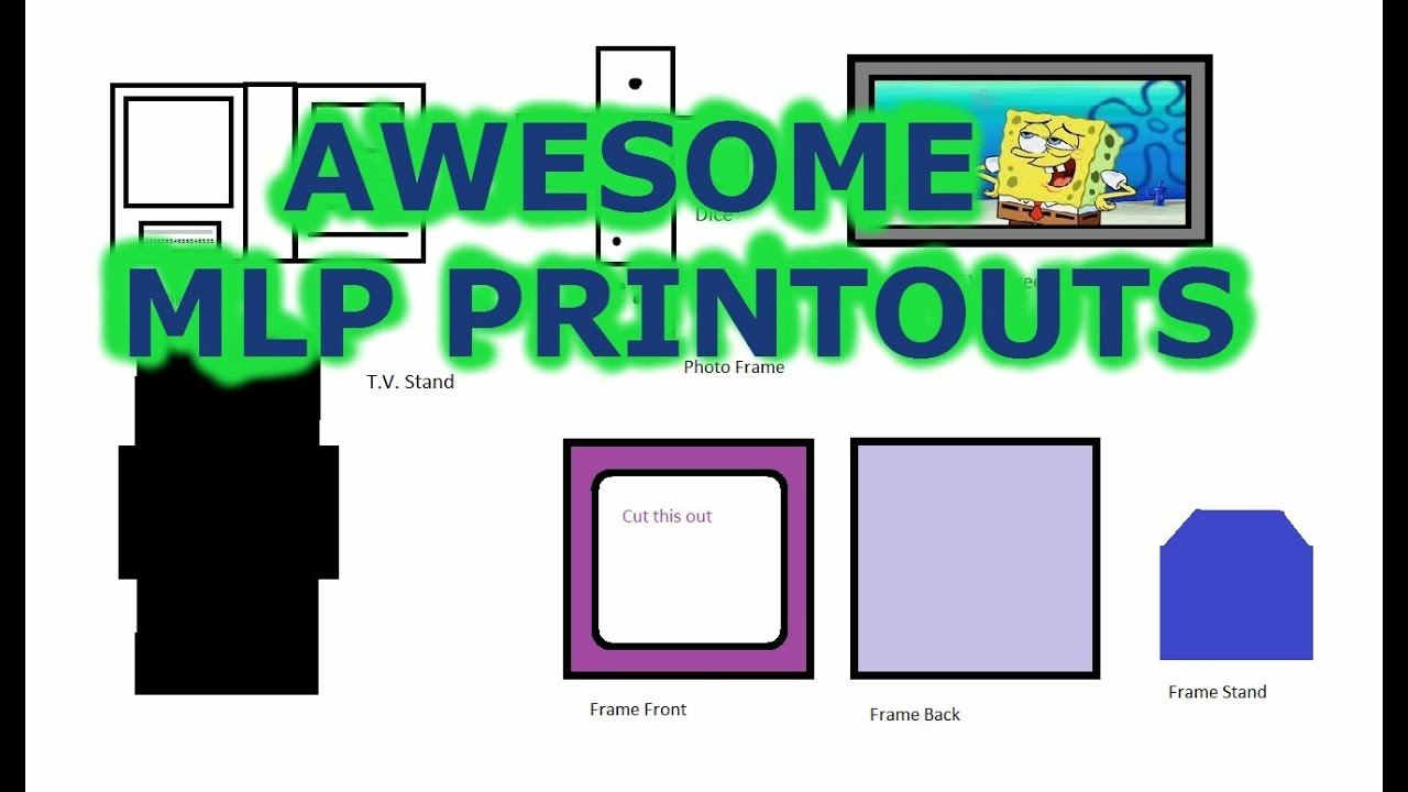 mlp printouts - Picture Printouts
