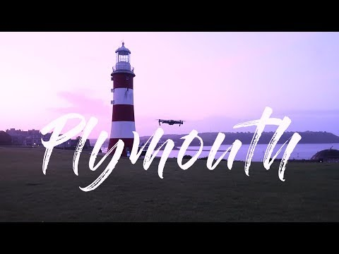 EXPLORING the BEAUTIFUL COASTAL CITY of PLYMOUTH  (4K DRONE FOOTAGE) | UK TRAVEL VLOG