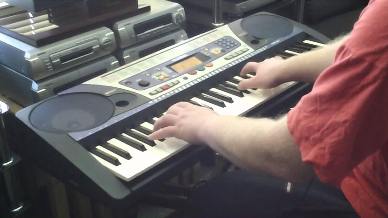 Yamaha psr 262 keyboard 100 sounds features part 1 2 for Yamaha keyboard parts