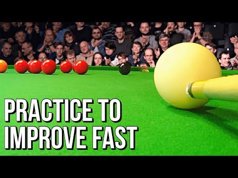 Snooker Practice To Improve Your Game Fast