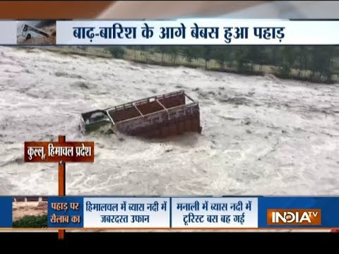 Heavy monsoon spell wreaks havoc in Himachal Pradesh, Madhya Pradesh and other states