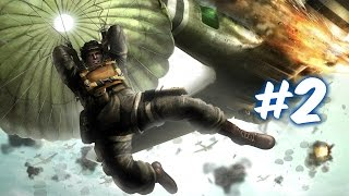 Medal of Honor: Airborne Walkthrough HD - Mission 2 - The Show