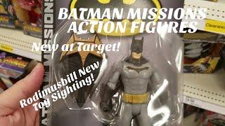 BATMAN MISSIONS Action Figures - BATMAN, ROBIN, HARLEY QUINN - NEW Toy Sighting at Target!