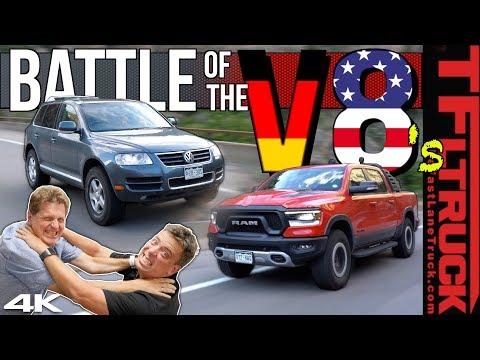 Ram Rebel vs VW Touareg 4x4 Worst MPG Battle: We Are Shocked By the Results   Ram Rebel Rouser Ep.6