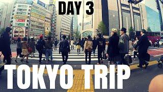 TOKYO TRIP Day 3 - Shinjuku Station and Dragonball J-WORLD