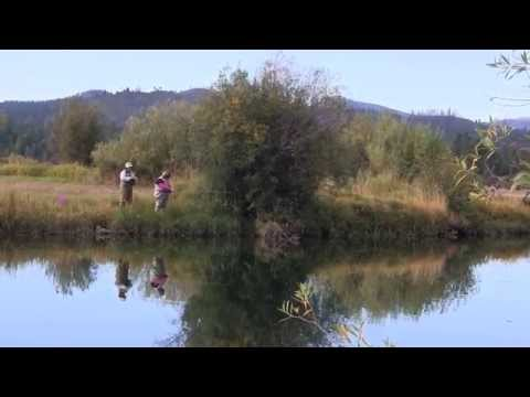 Breast Cancer Survivors Fly Fish As Therapy