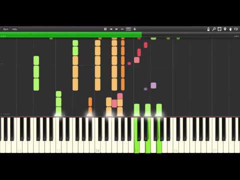 Clean Bandit - Tears ft. Louisa Johnson FULL SYNTHESIA COVER/TUTORIAL (HD)