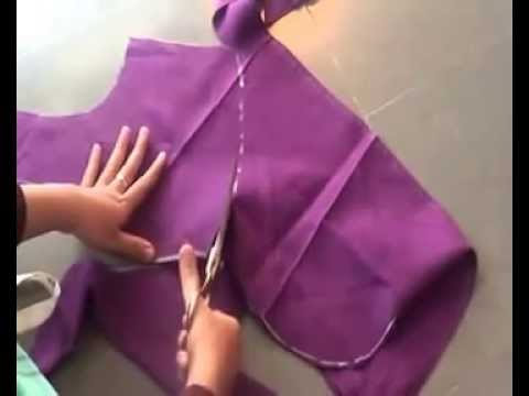 Latest blouse cutting and stitching in Telugu