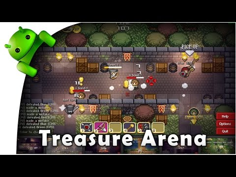 Treasure Arena - game play online pc in web - funny - free play