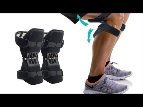 Aptoco дышащие суставные наколенники за 1200 руб мощный пружинный усилитель колена НА АЛИЭКСПРЕСС