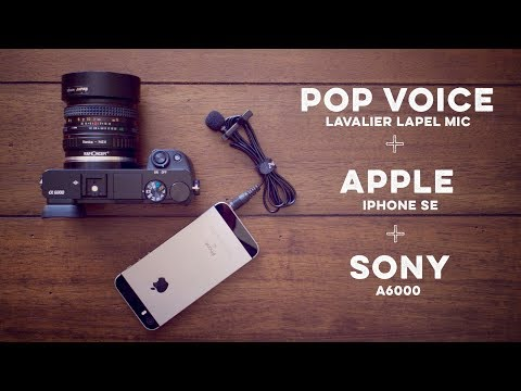 Thumbnail: Improve the Sony A6000 Audio with an Inexpensive iPhone Lavalier Microphone