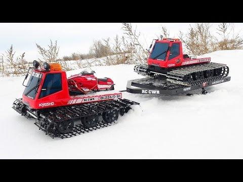 RC ADVENTURES - Kyosho Blizzards & Ski Trailer Snow Patrol