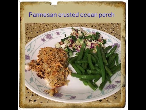 Tasty Tuesday ~ Parmesan Crusted Ocean Perch
