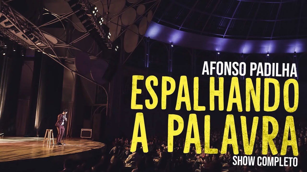 AFONSO PADILHA - ESPALHANDO A PALAVRA - SHOW COMPLETO