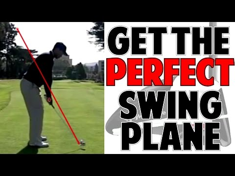 PERFECT GOLF SWING PLANE - Tiger Woods Golf Swing Lesson