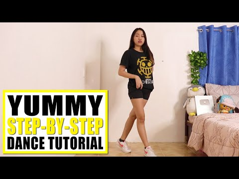 YUMMY Dance Tutorial (Step-by-step)   Rosa Leonero