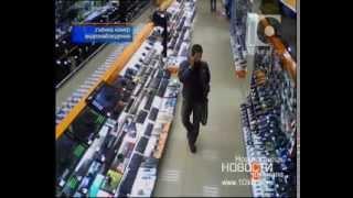 Обманывал продавцов и охранную сигнализацию(, 2013-11-05T04:40:10.000Z)