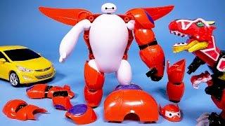 빅히어로 Big Hero 6 다이노포스 빅히어로 6 아머업, 카봇 또봇 Big Hero 6 Baymax Power Rangers Dino charge