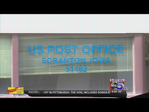 Scranton post office forced to close because of interior damage
