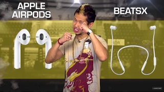 AirPods vs. BeatsX (CNET Prizefight)