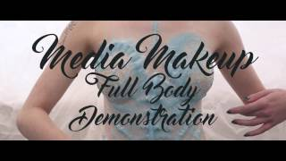 vuclip Theatrical Makeup Full Body Paint Demo