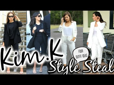 Download Youtube: Kim Kardashian Fashion Look for Less   Celebrity Style Steal