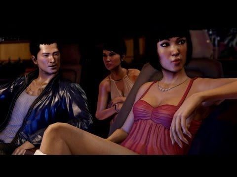 Sleeping Dogs - Riding with Emma Stone and singing karaoke (Gameplay 1080p)