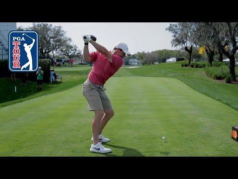 Rory McIlroy's swing in slow motion (every angle)