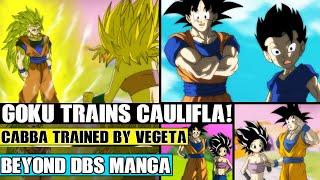 Beyond Dragon Ball Super: Goku Trains Caulifla In Universe 7! Caulifla Challenges Vegeta To Battle!