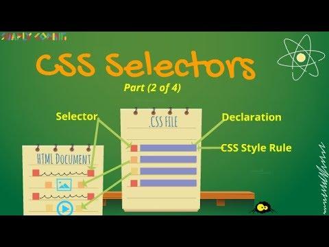CSS Tutorial - Selectors thumbnail