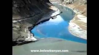 Sangam, Confluence of Indus & Zanskar Rivers, Ladakh avi