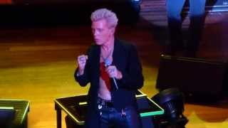 """Love & Glory"" Billy Idol@House of Blues Atlantic City 5/31/14"