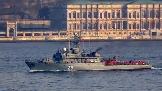 Video Romanian Navy Minesweeper F-29 Lt. Dimitrie Nicolescu on the Bosphorus download MP3, 3GP, MP4, WEBM, AVI, FLV November 2018