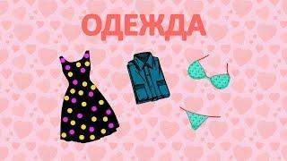 Одежда. Карточки Домана. Развивающее видео для детей от 1 года