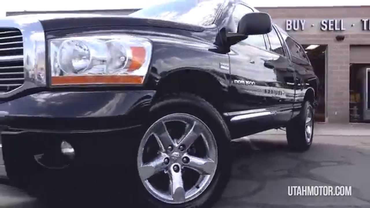 2006 Dodge Ram 1500 Laramie 5 7l Hemi Utah Motor Company