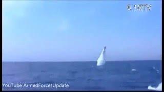 Северная Корея показала пуск баллистической ракеты с подлодки